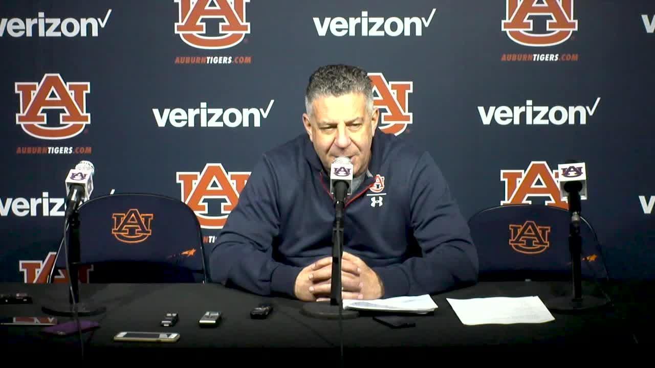 Auburn coach Bruce Pearl previews key SEC road game at LSU