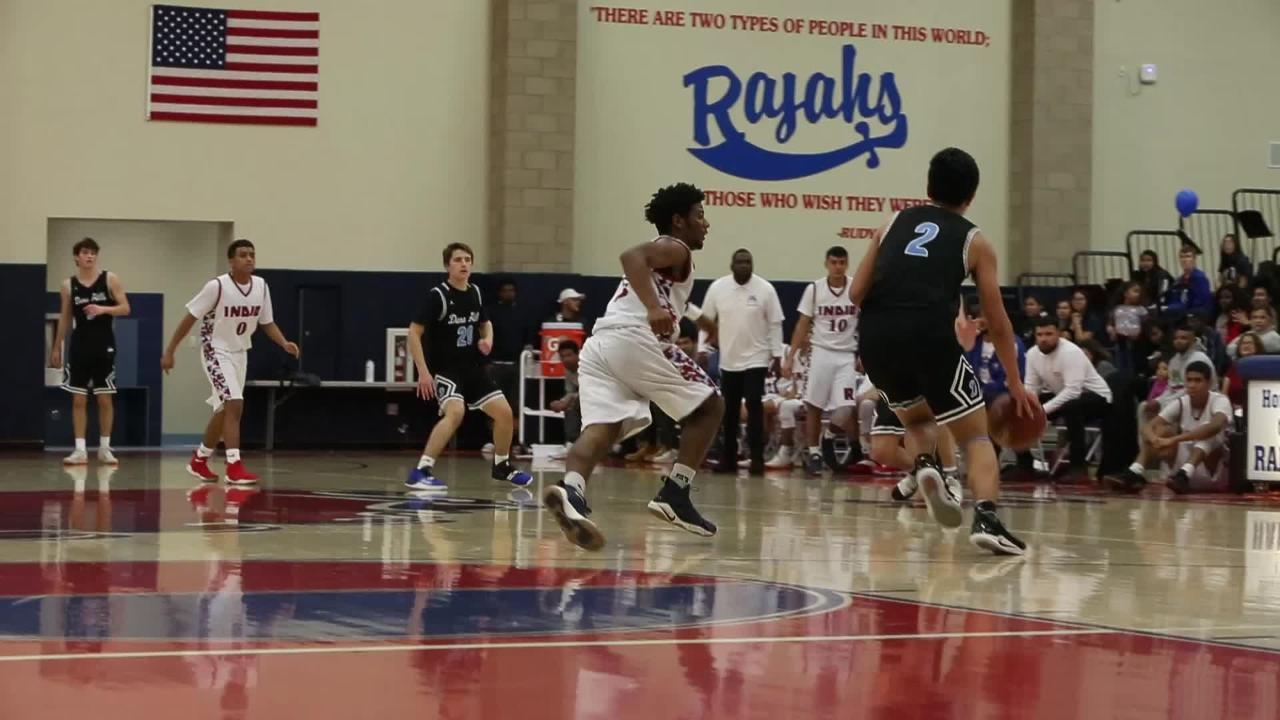 DVL champion Rajahs go cold, suffer 21-point loss in first round playoff game