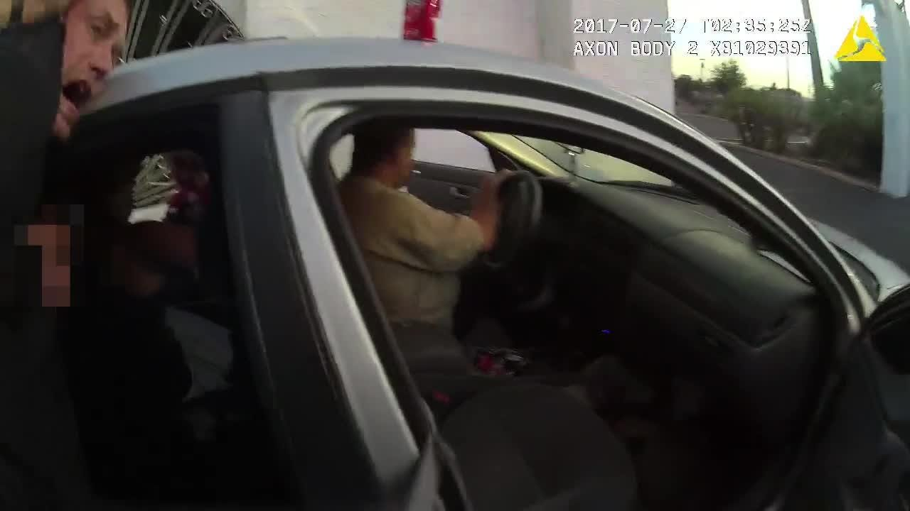 Body-cam footage shows Glendale police Taser tactics that prompted federal lawsuit