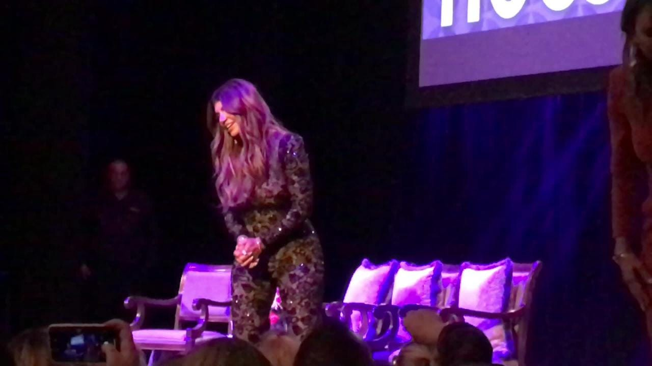 "Teresa Giudice and the 'Real Housewives' talk it up in Red Bank  at ""An Evening with the Celebrity Housewives'"