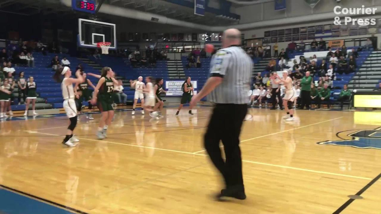 Meredith Raley had 31 points and 12 rebounds for Gibson Southern in a victory over Vincennes Lincoln in the regional semifinal.