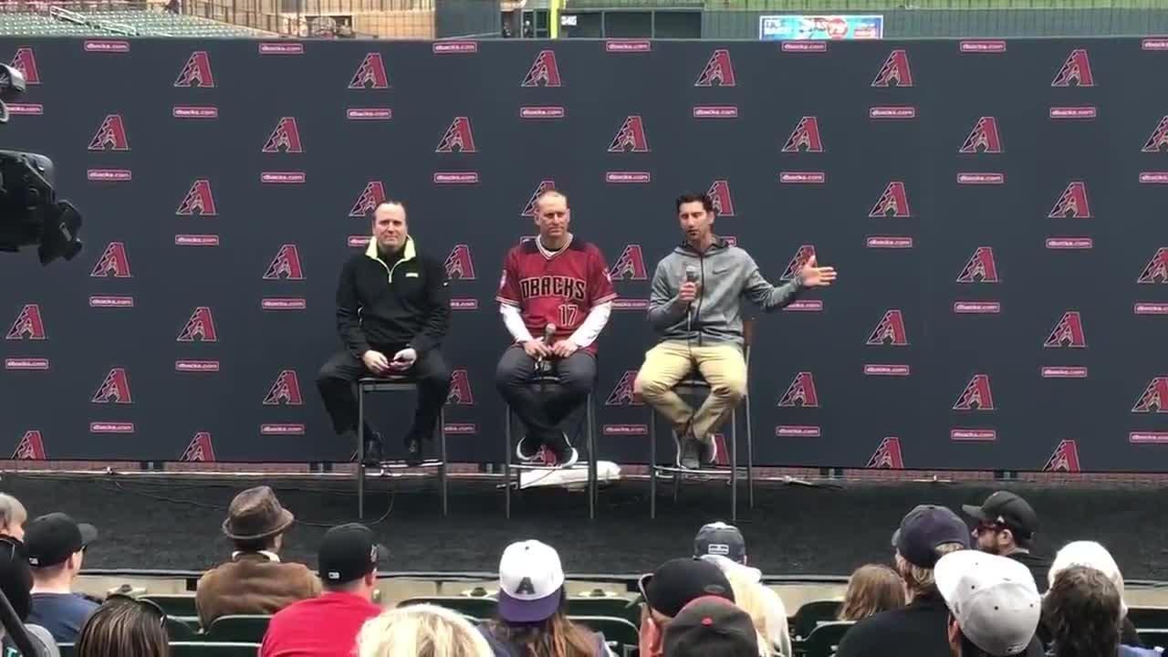 GM Mike Hazen discusses Paul Goldschmidt during Diamondbacks Fan Fest.