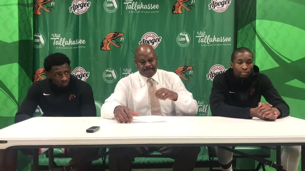 WATCH: Head coach Robert McCullum breaks down FAMU's 70-66 loss to Howard.