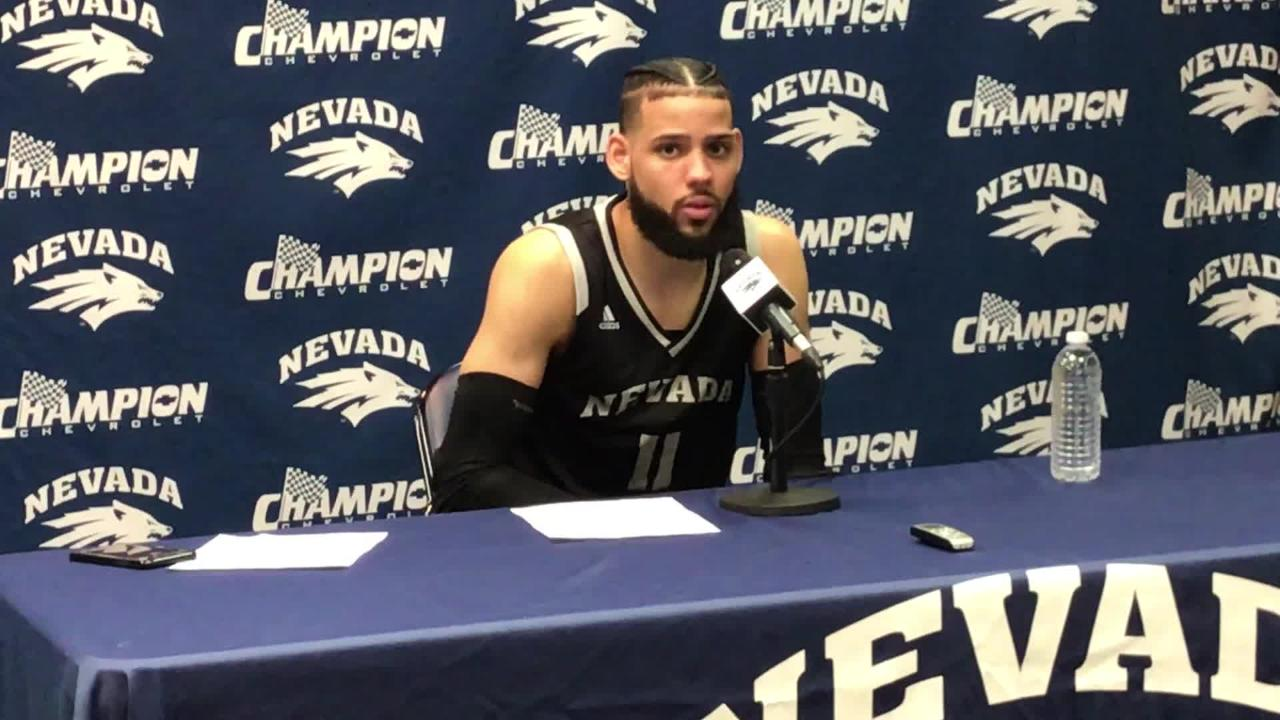Nevada's Cody Martin breaks down the big differences in the Pack's two games against New Mexico.