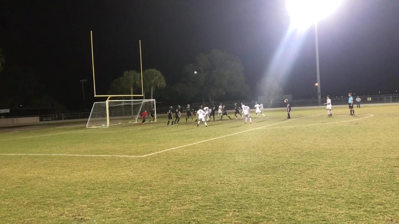 Leo Perez scored two goals and set up Esteban Orjuela's go-ahead tally in the 56th minute as Mariner defeated Cape Coral 3-1 to move on to the regional finals.
