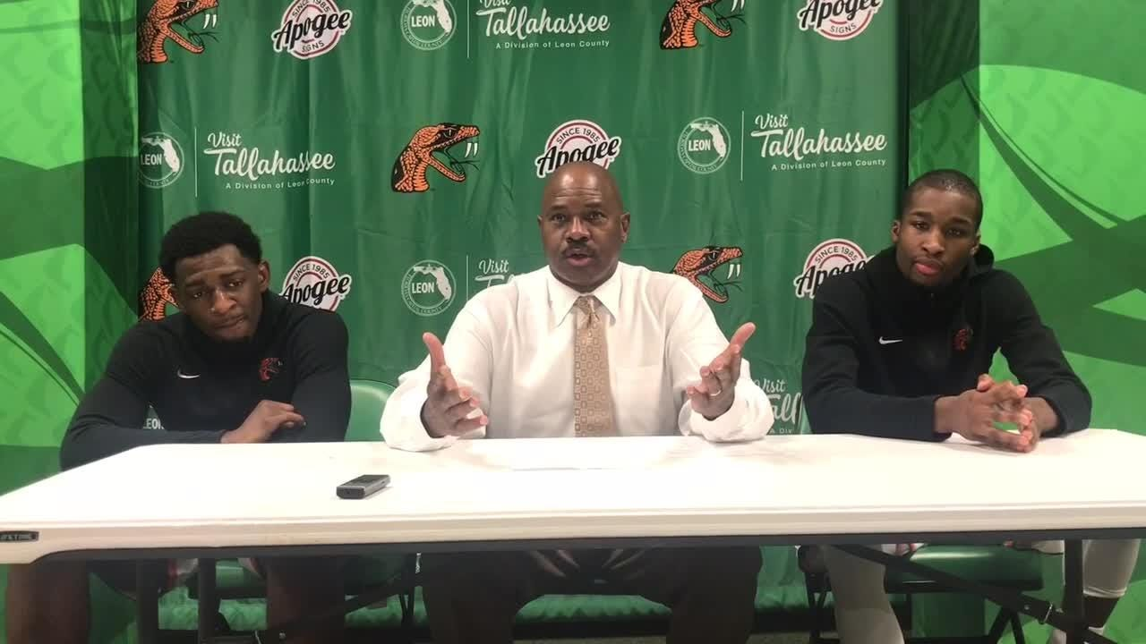 WATCH: Basketball coach Robert McCullum discusses FAMU's rematch with Norfolk State on ESPNU.