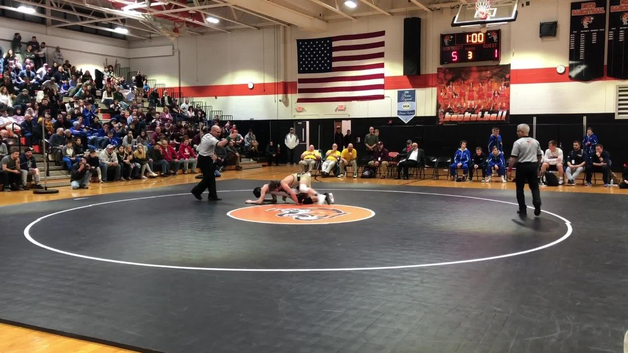 Highlights from the Section 4 Division I wrestling championships Feb. 9, 2019 at Union-Endicott High School.
