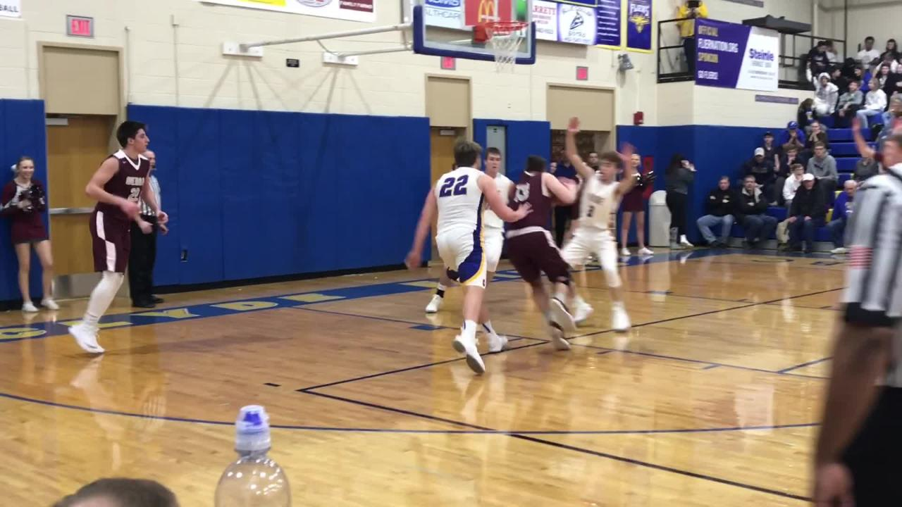 Jacob Plantz scored 31 points as Genoa remains unbeaten with a win at Clyde.