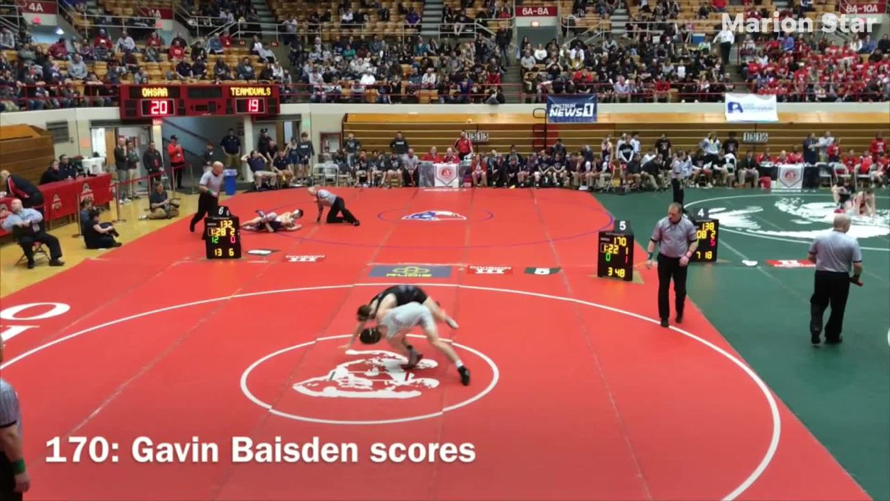 Genoa beat Pleasant 72-6 in the quarterfinals Sunday at the State Wrestling Dual Team Tournament in Division III at Ohio State's St. John Arena.