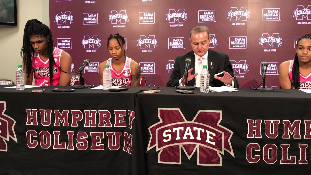 Mississippi State head coach Vic Schaefer on win over Tennessee.