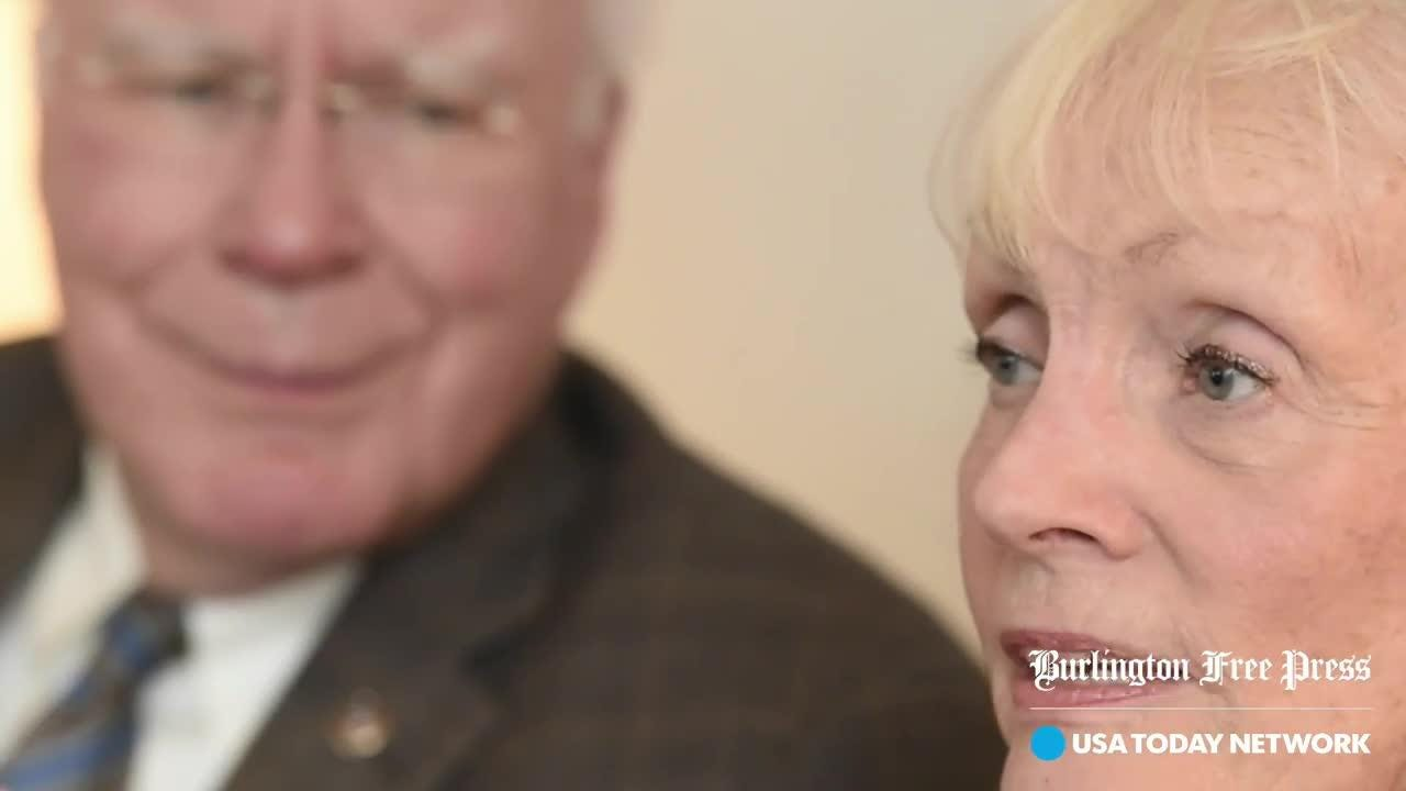 Sen. Patrick Leahy first met Marcelle Pomerleau as a college student while attending a party on the shores of Lake Champlain. Produced Oct. 4, 2016.
