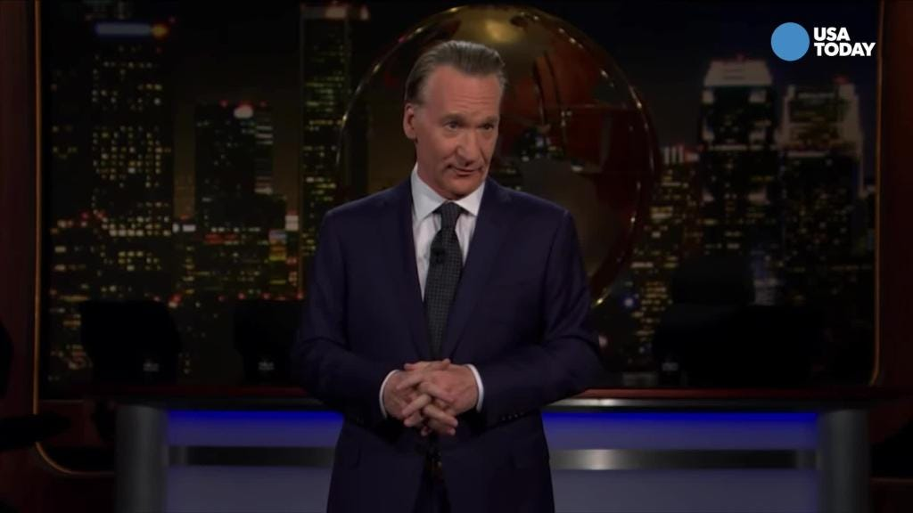 Maher pits a real Bezos against a fake Trump in Best of Late Night
