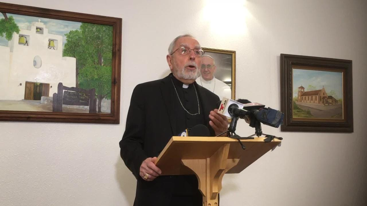 Excerpt from opening statement by Bishop Gerald Kincanas of the Las Cruces Diocese at a press conference in Las Cruces, Monday, Feb. 11, 2019.
