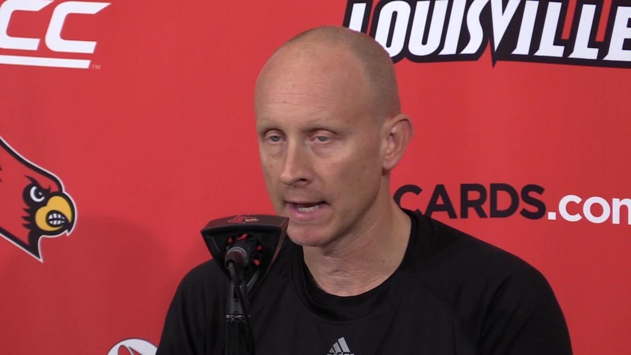 Louisville basketball coach Chris Mack has high praise for Duke's Zion Williamson.