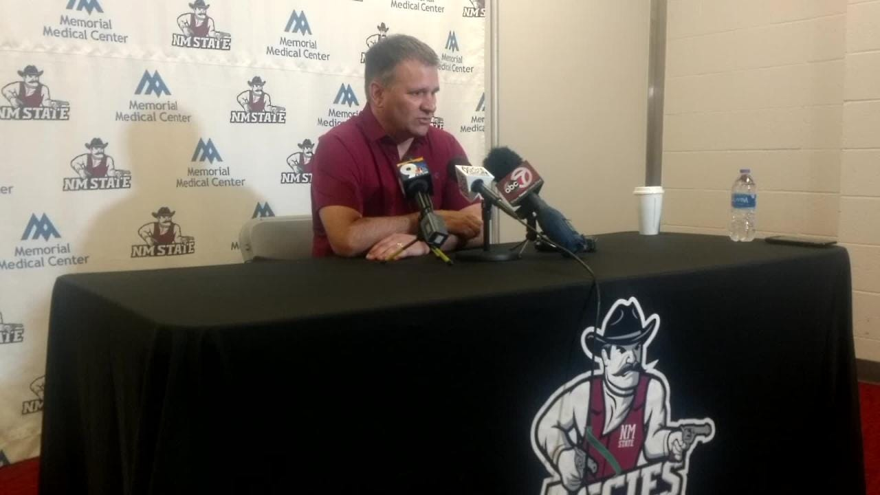 Chris Jans talks about Aggies execution in close games