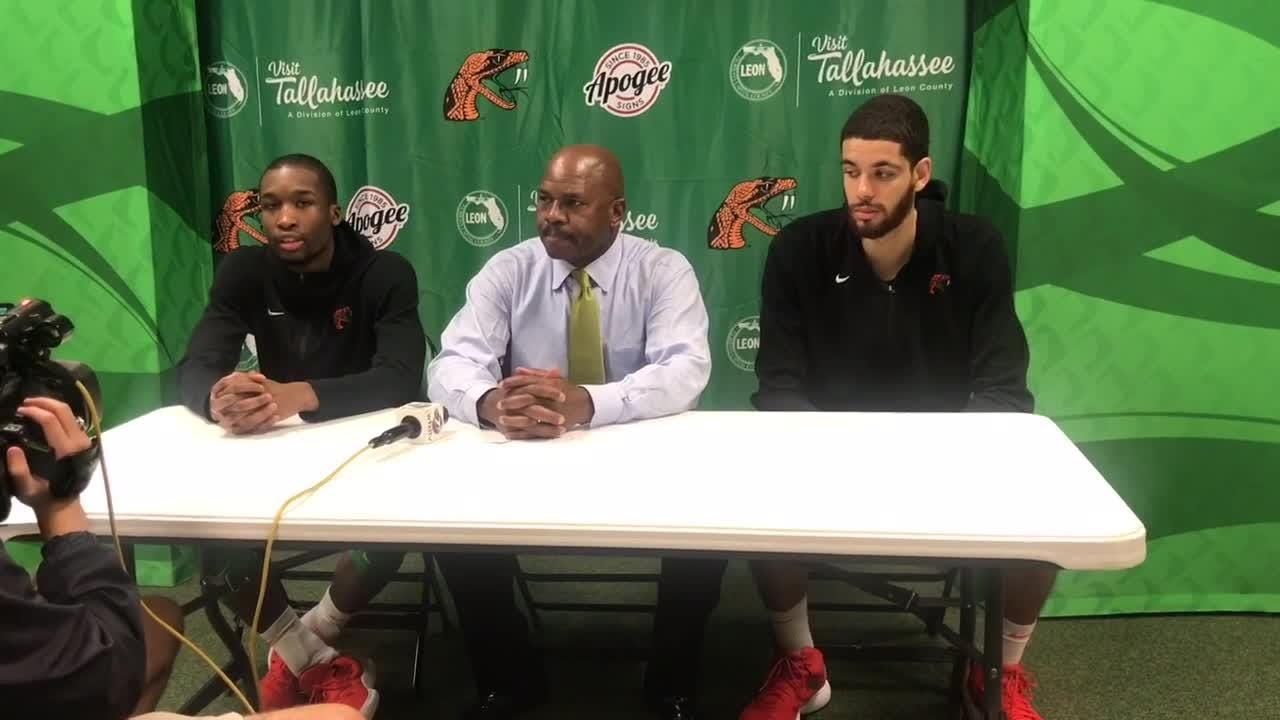 WATCH: Justin Ravenel and Isaiah Martin recap FAMU's 66-54 loss to Norfolk State at the Lawson Center.