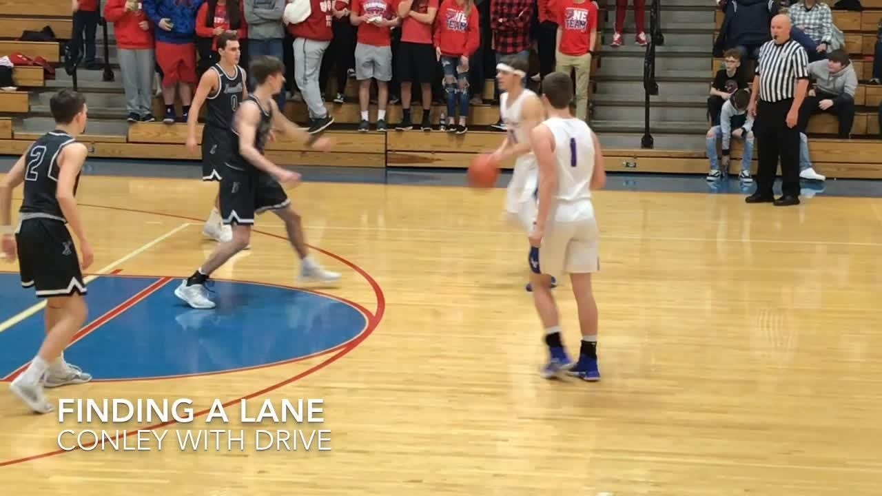 Visiting Granville boys improved to 15-3 with a 48-37 win at Licking Valley.