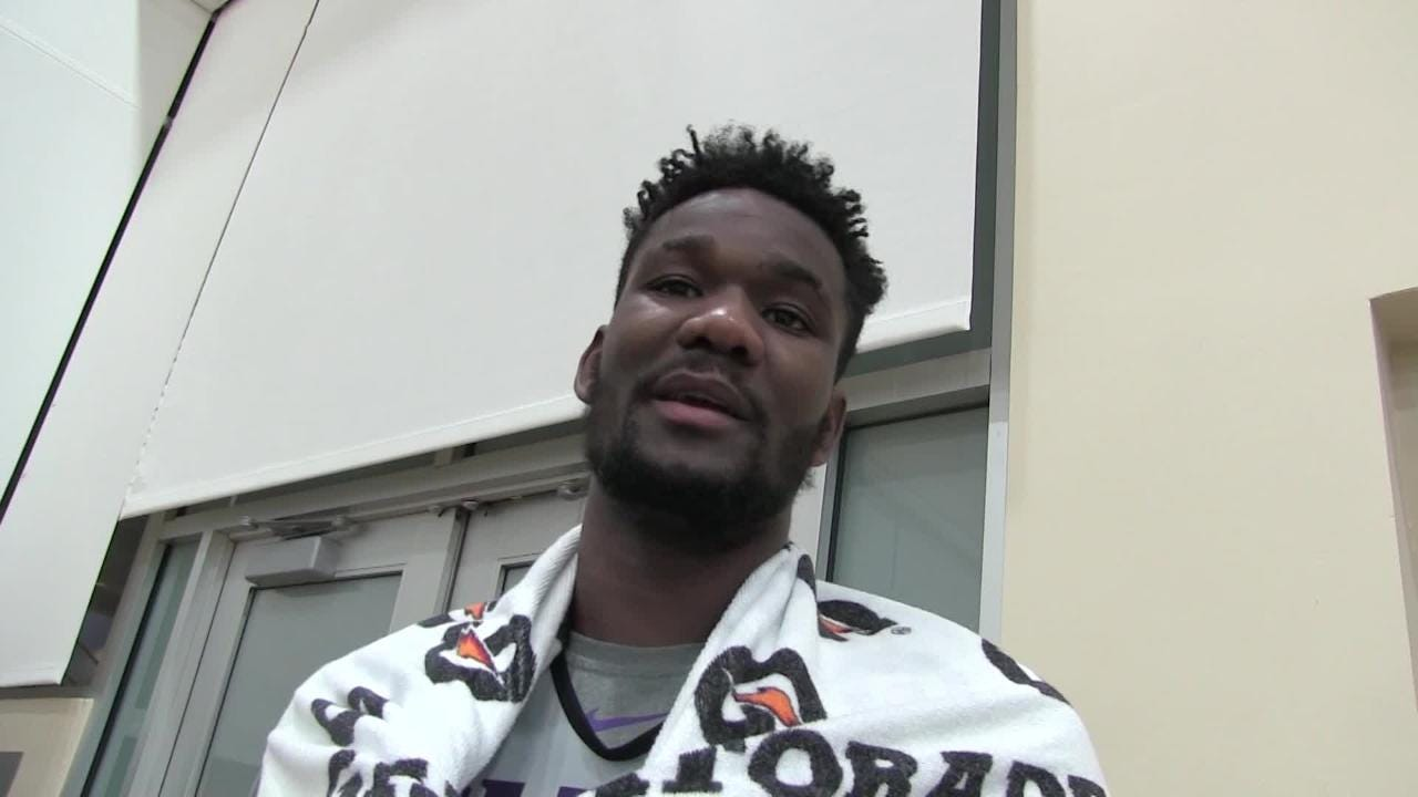 Last month, Suns rookie Deandre Ayton was excited about returning to Charlotte for NBA All-Star weekend when he'll play in the U.S. vs World Challenge.