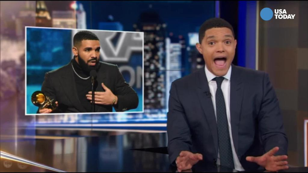 Noah compares Grammy speeches to ordering at Chipotle in Best of Late Night