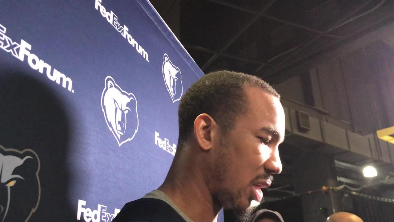 New Memphis Grizzlies guard Avery Bradley explains the impact that Tony Allen has had on his game.