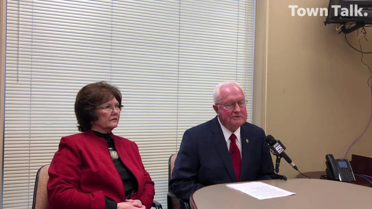 Rapides Parish Sheriff William Earl Hilton announces he won't run for rel-election.
