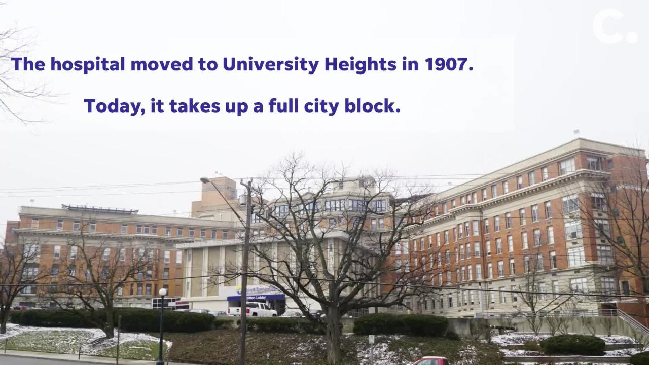 Good Samaritan Hospital in University Heights was founded in 1852. Here are some more fun facts about the hospital.