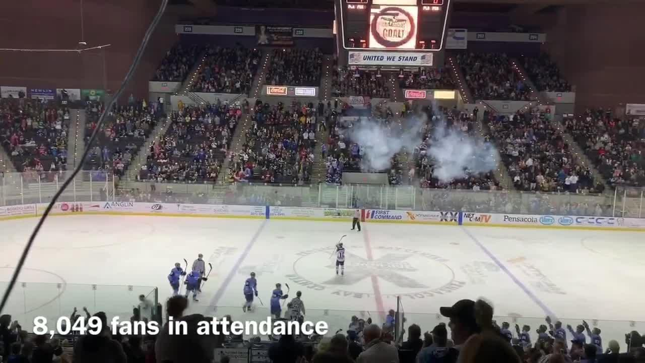 The Pensacola Ice Flyers might have hit a turning point in their season with a winning weekend in front of a sellout crowd.