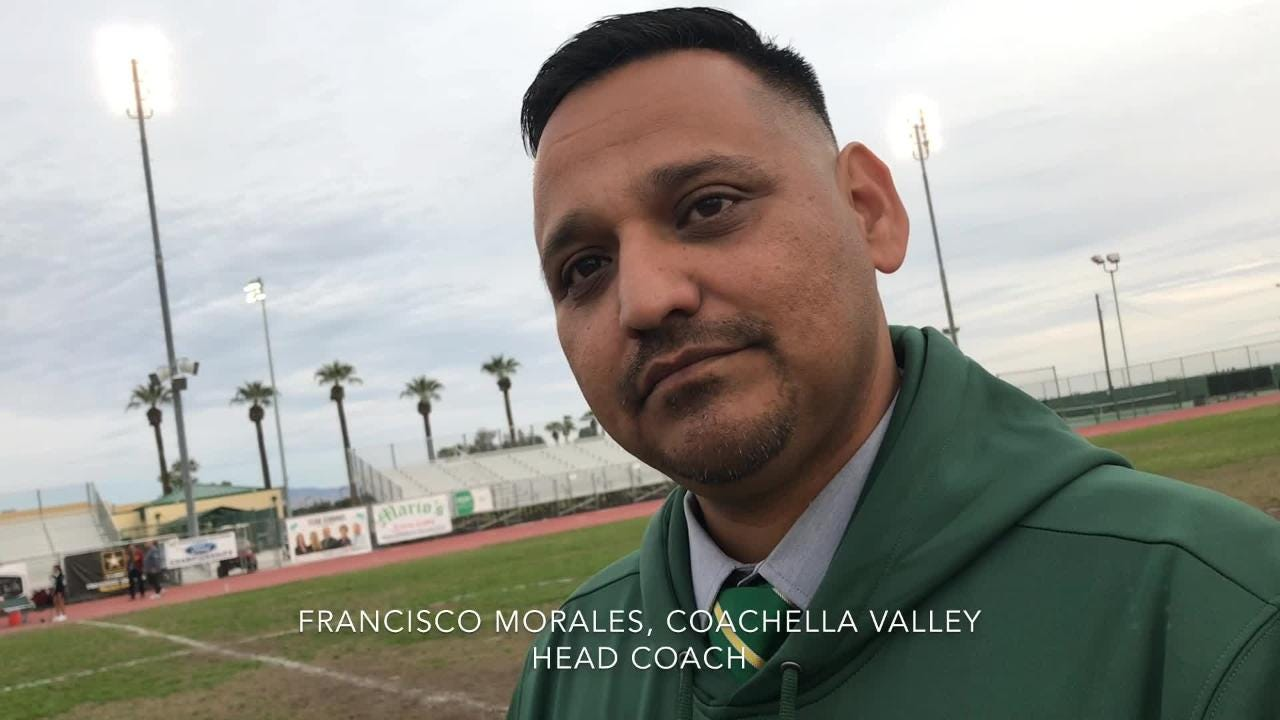 The Coachella Valley Arabs earned a 3-2 win over Ontario to reach the semifinals of the CIF-SS Division 5 girls soccer playoffs