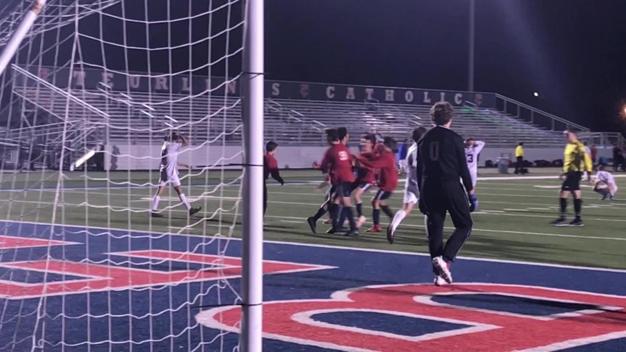 Teurlings advanced to the Division III semifinals with a 2-1 win over Parkview Baptist Tuesday.