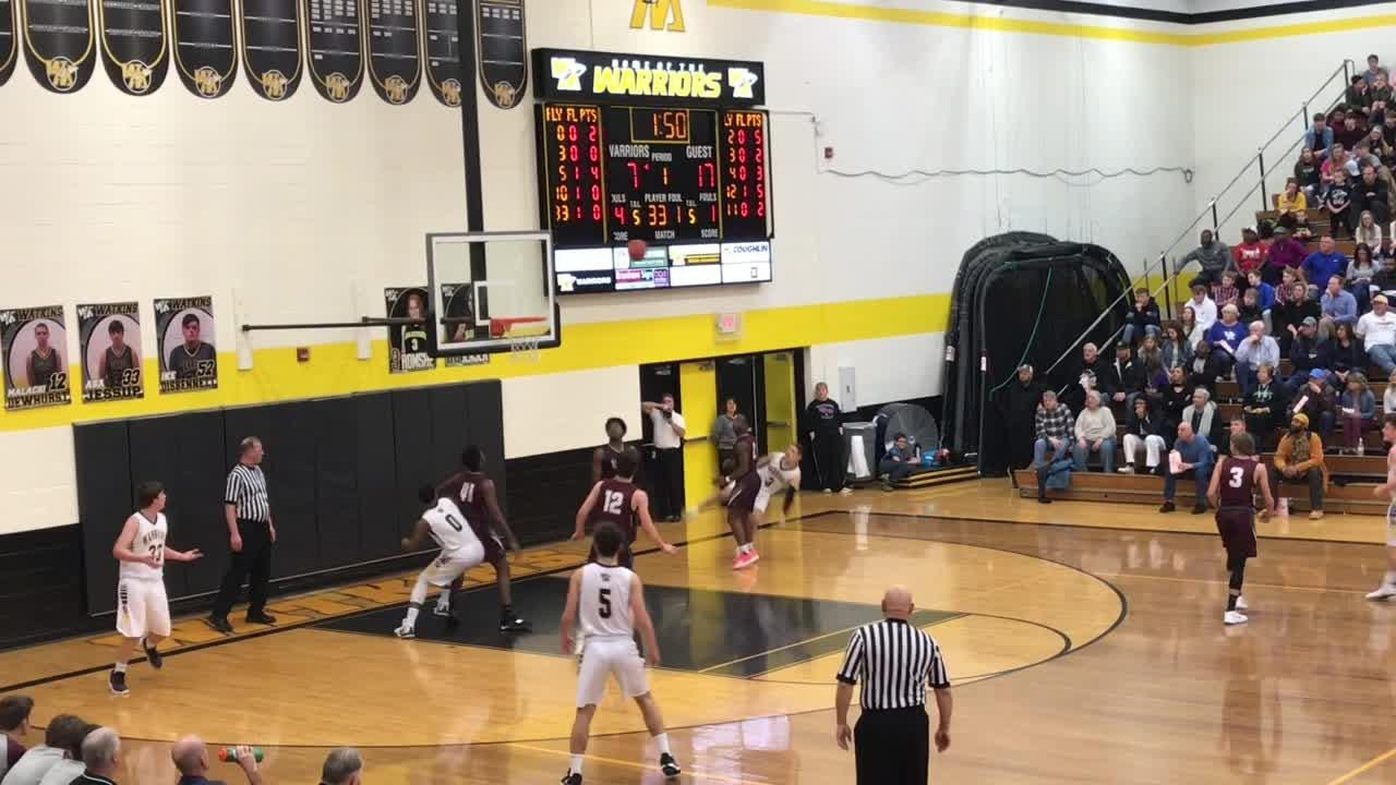 Watkins Memorial gave Columbus Academy a strong three quarters but fell off the pace in the fourth quarter of a 66-45 defeat.