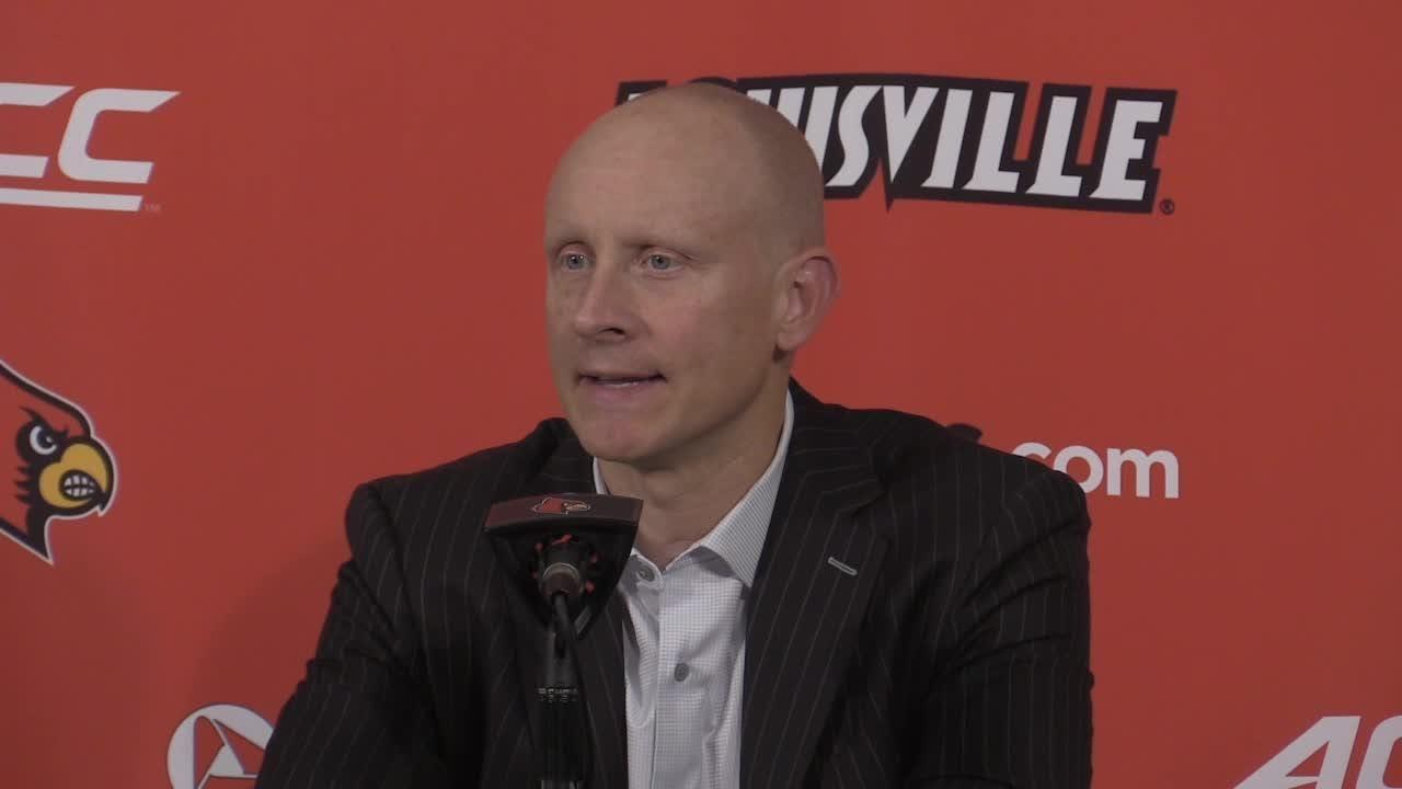 Louisville coach Chris Mack bemoaned his team's meltdown against Duke, letting a 23-point lead slip away.