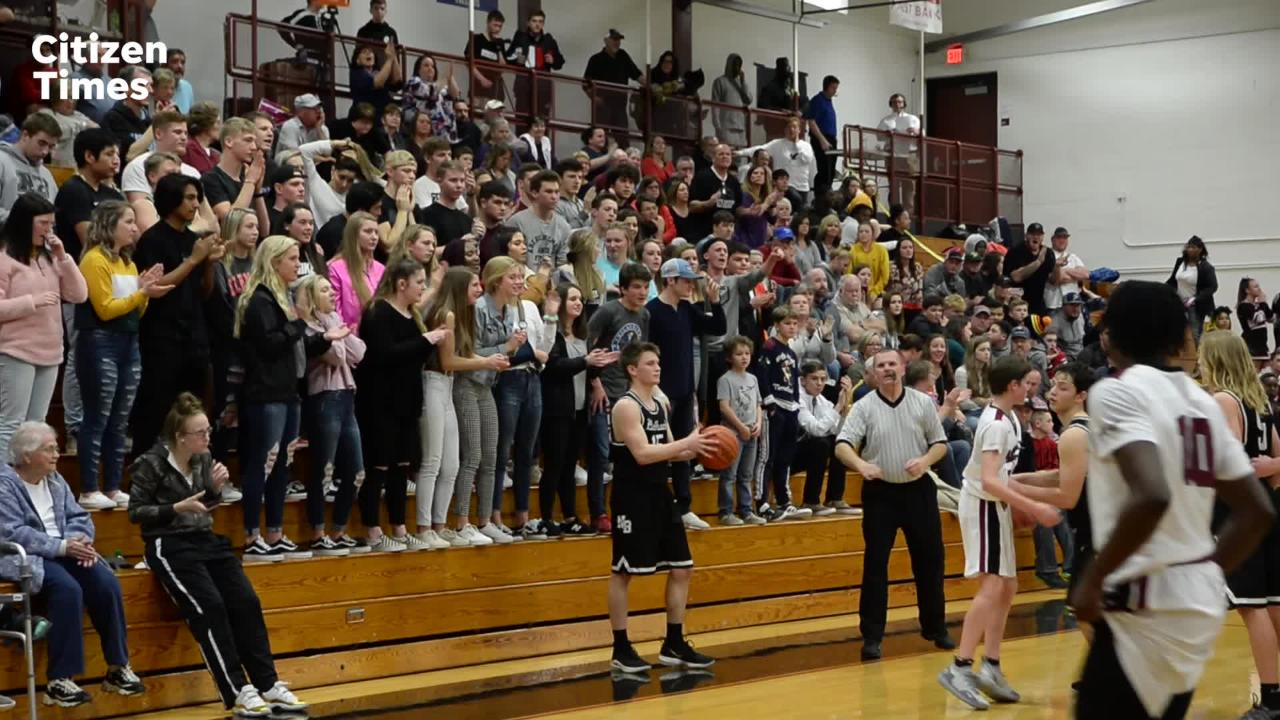 Asheville hosted North Buncombe in basketball on Feb. 12, 2019.