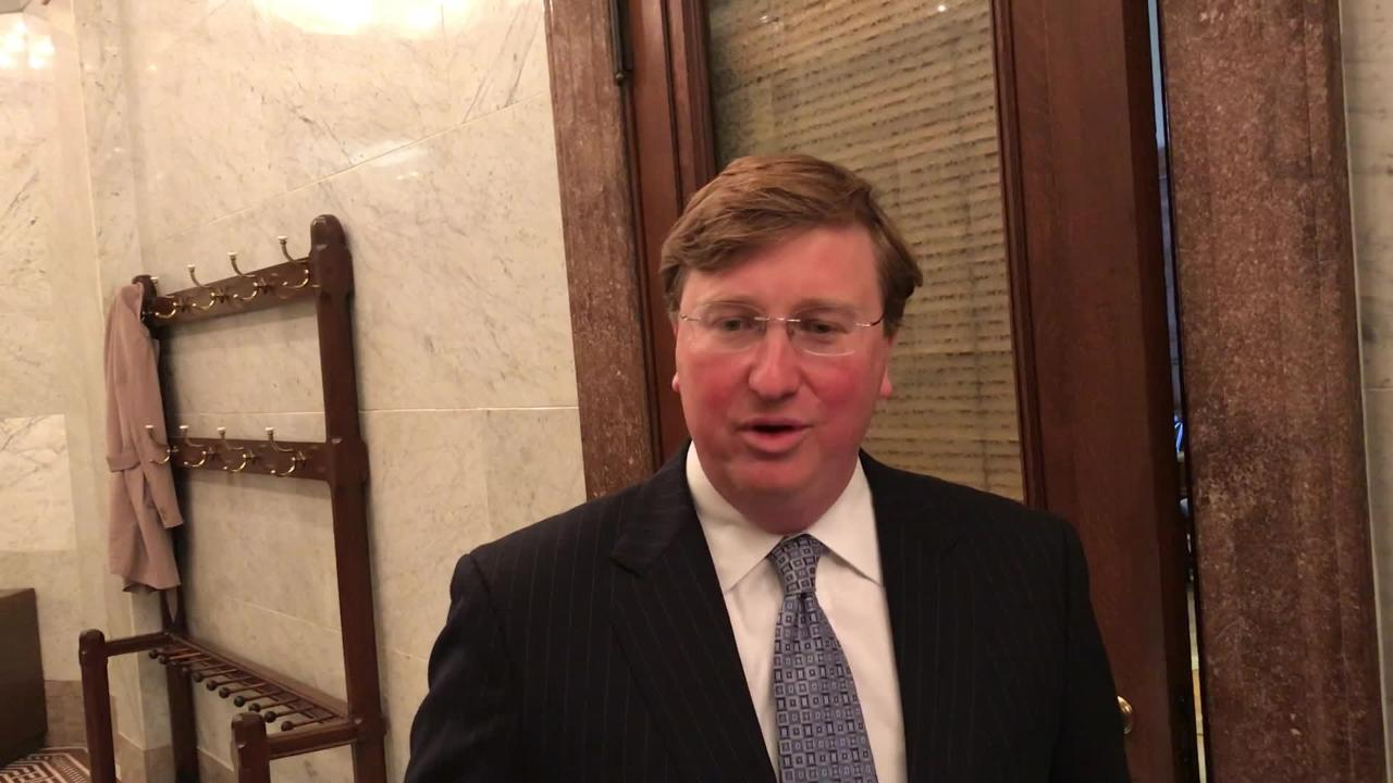 Lt. Governor Tate Reeves responds to yearbook controversy.