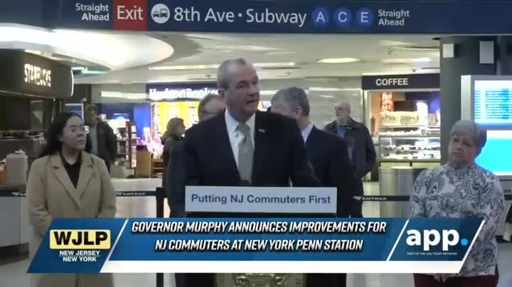 VP Pence reaffirms commitment to NATO in Poland; Gov. Murphy  announces a financial settlement with Amtrak and NJ TRANSIT