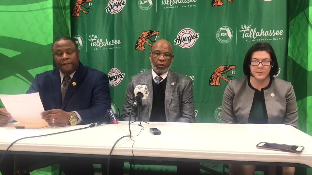 WATCH: FAMU athletics announce postseason ban for men's basketball, golf and men's indoor/outdoor track due to low APR scores.