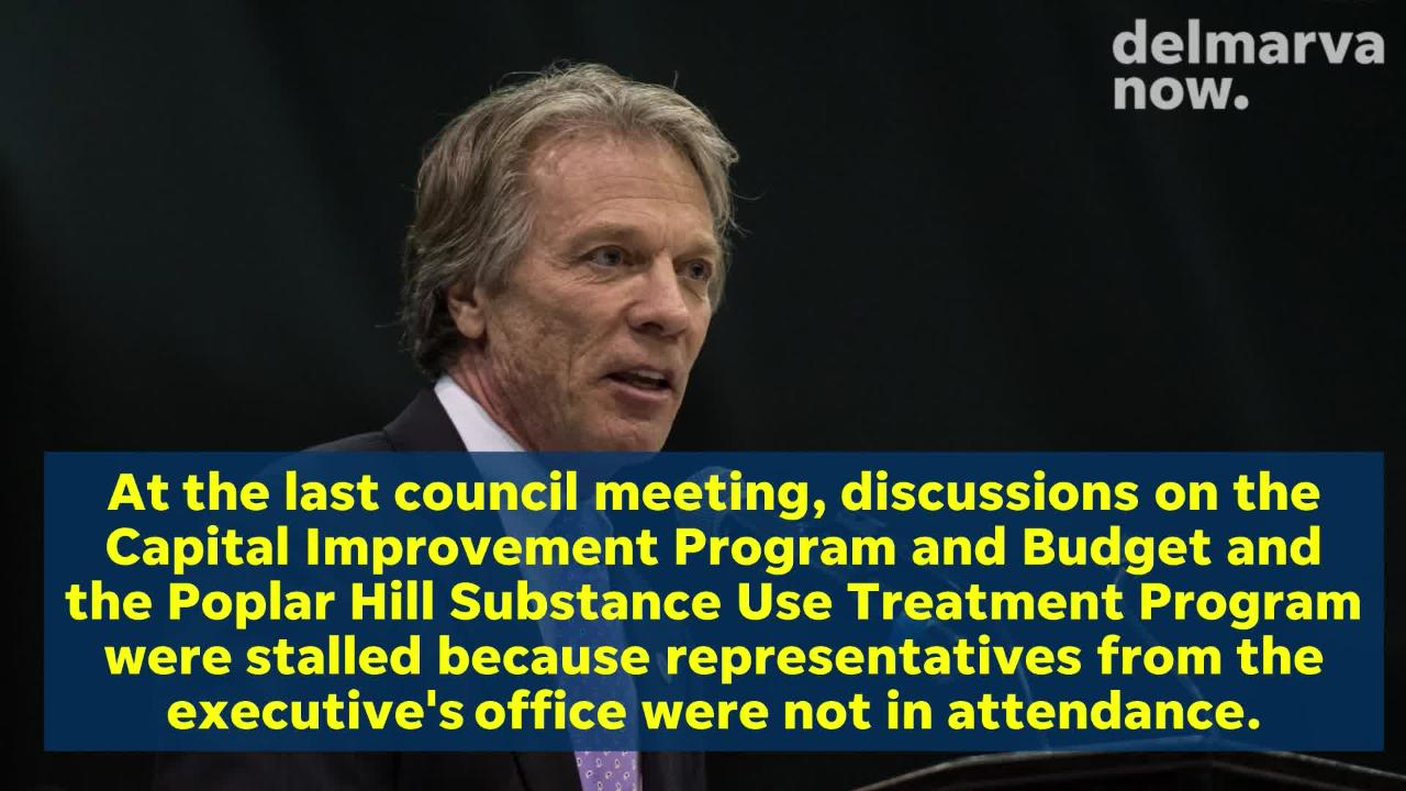 County Executive Bob Culver is calling on Council President John Cannon to resign.
