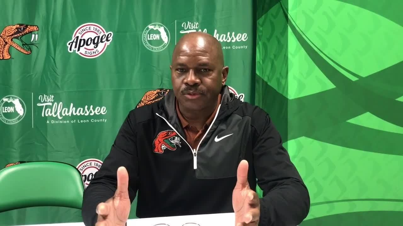WATCH: FAMU men's basketball coach Robert McCullum addresses the NCAA postseason ban due to low APR scores.