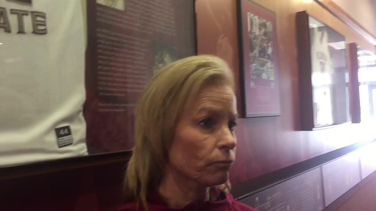 Gillespie and the Seminoles have turned their attention from fighting for an NCAA Tournament spot to fighting for a better seed.