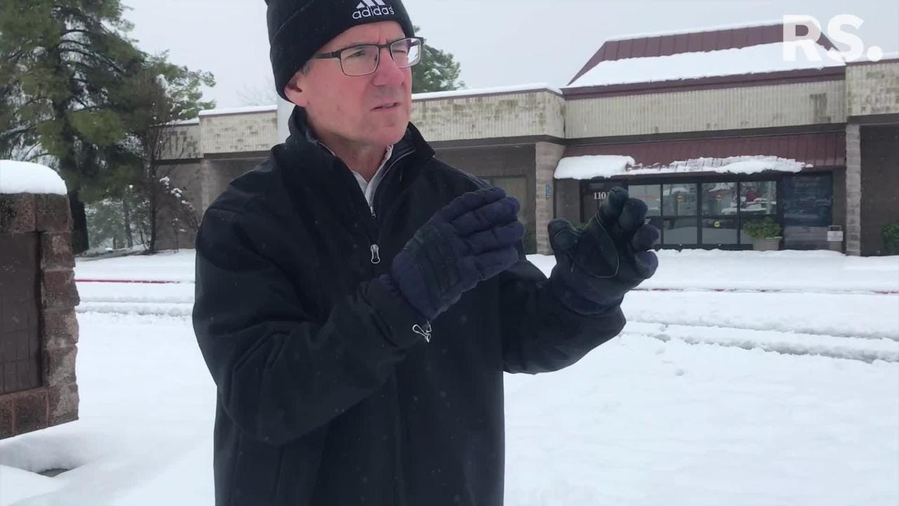 The Record Searchlight's David Benda breaks down the latest on the road closures, weather forecast and more after an unexpected winter storm swept through the Redding area Tuesday night.