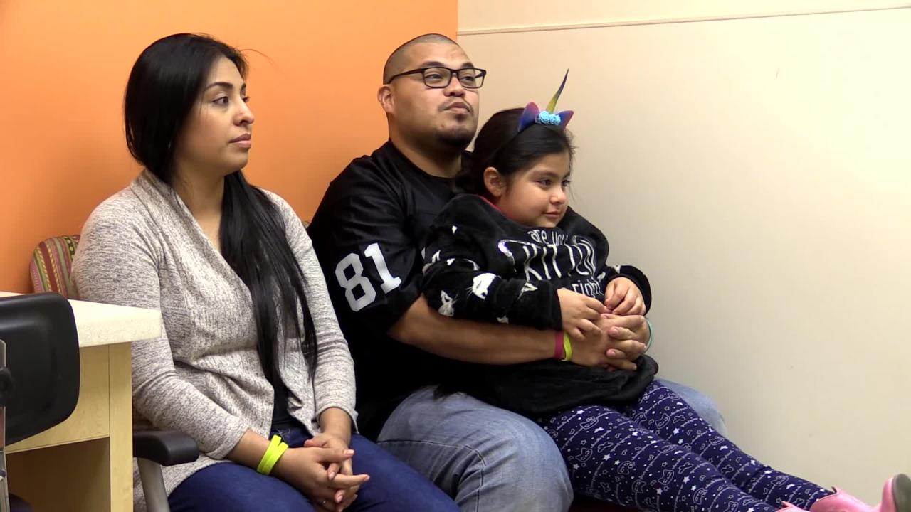 Ten-year-old Gabriel Gonzalez first had to receive an artificial heart and followed that with a heart transplant 10 weeks later.  Now he's doing great.