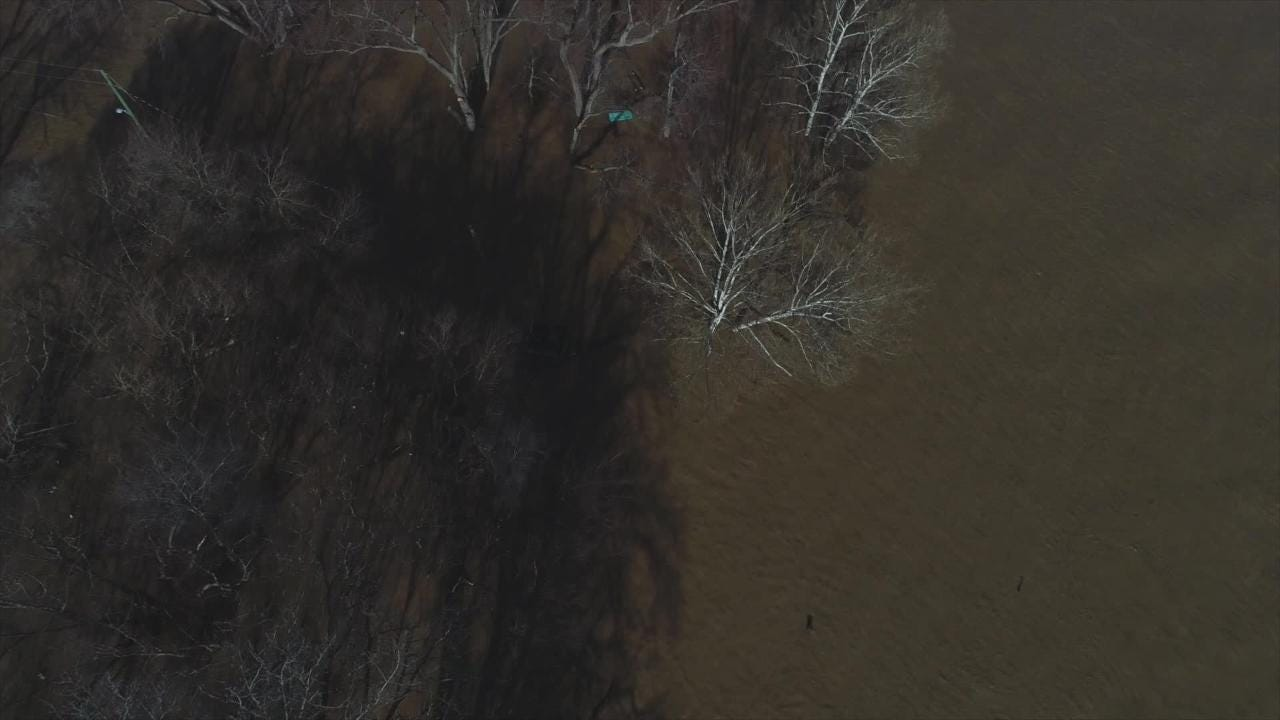 Flooding along the Ohio River hit Louisville, Kentucky and areas in Southern Indiana in February 2019. Check out Courier Journal drone footage.