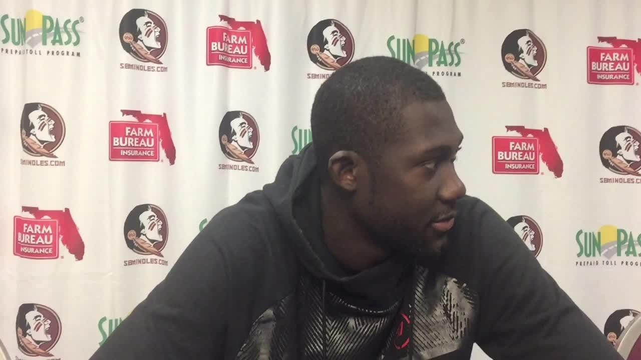 Koumadje recorded his first career double-double in FSU's 88-66 win over the Demon Deacons.