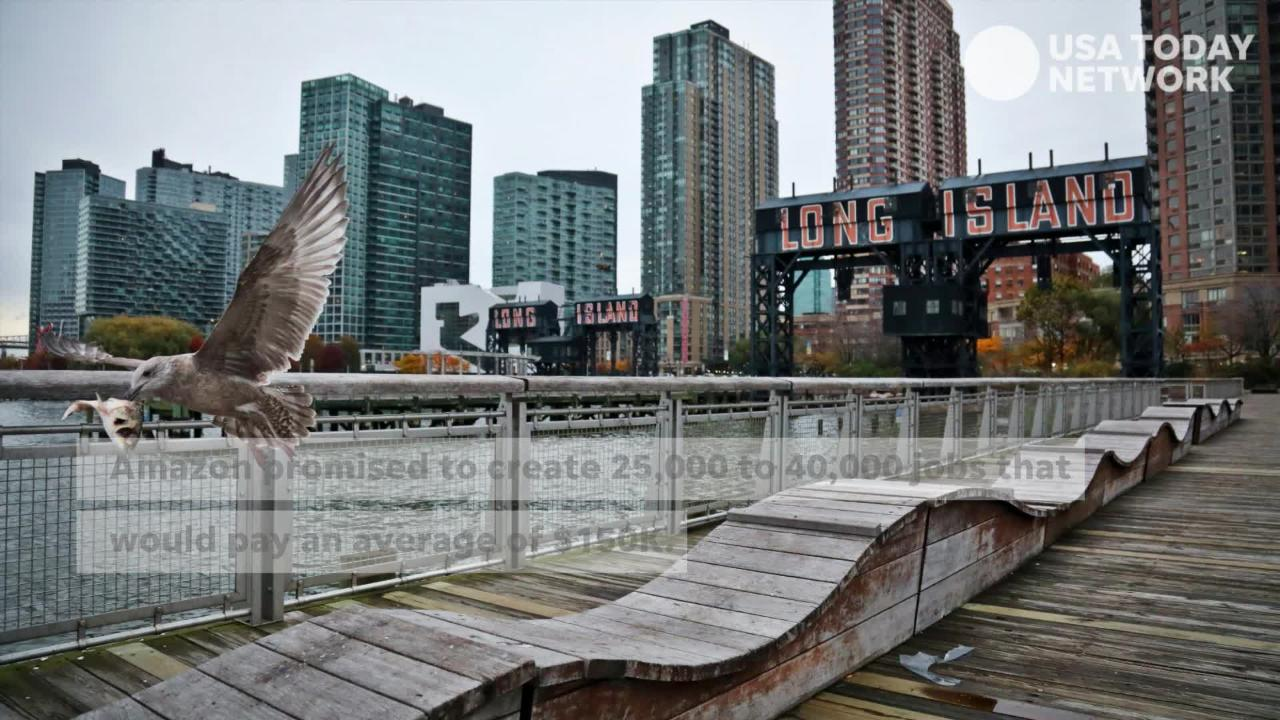 Amazon on Thursday said it would be pulling out of a deal that would bring the company's second headquarters to Long Island City.