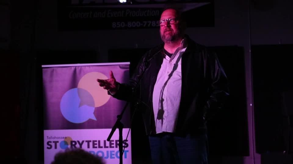 Jeff Schweers tells his story for 'Love and Dating in the Digital Age' on Tuesday.