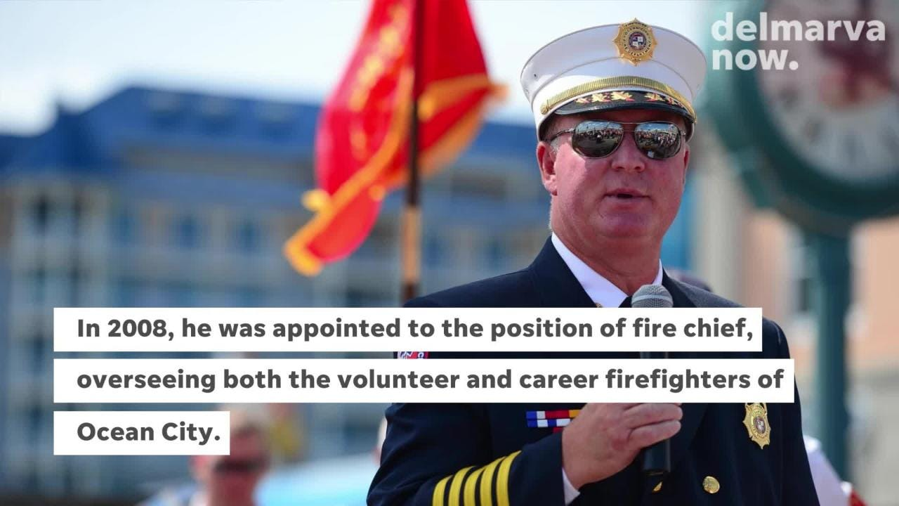 Ocean City Fire Chief Chris Larmore announced his retirement on Thursday after nearly 12 years.