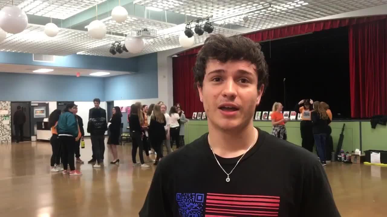18-year-old Jordan Harb talks about the vigil held in honor of the Marjory Stoneman Douglas High School shooting victims on Feb. 14, 2019.