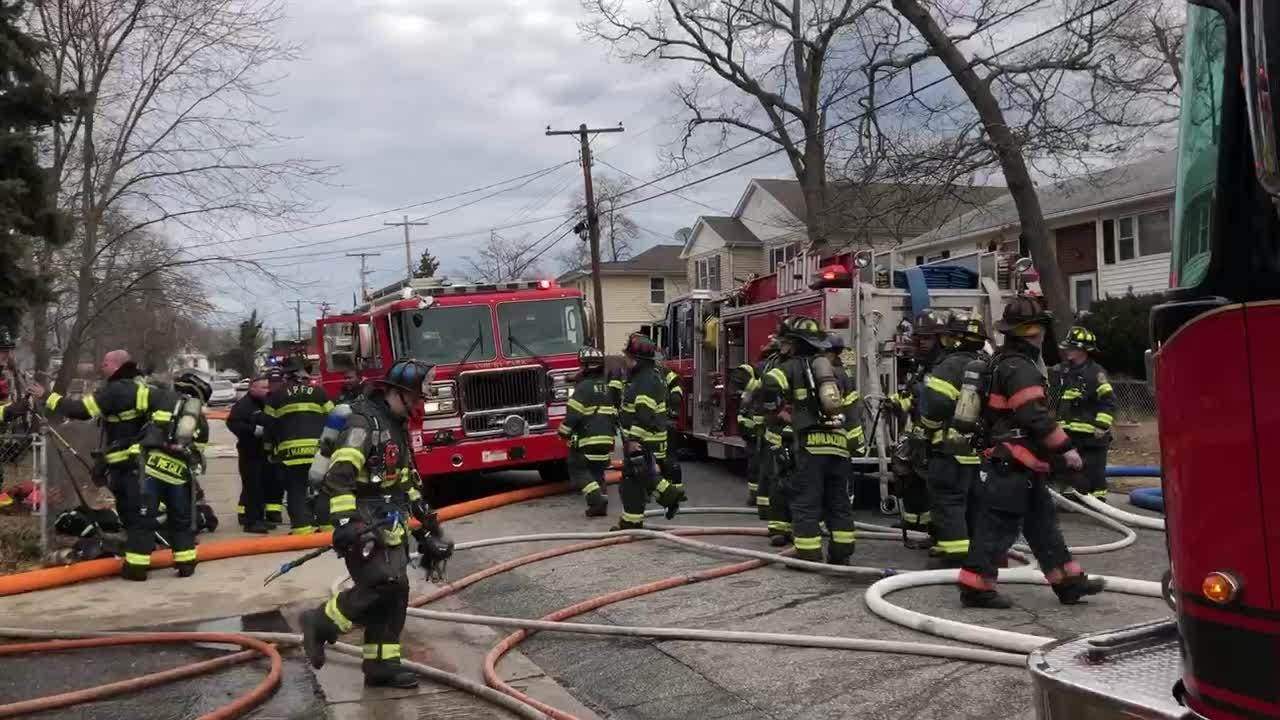 Firefighters from Asbury Park and Neptune responded to a house fire Friday morning.