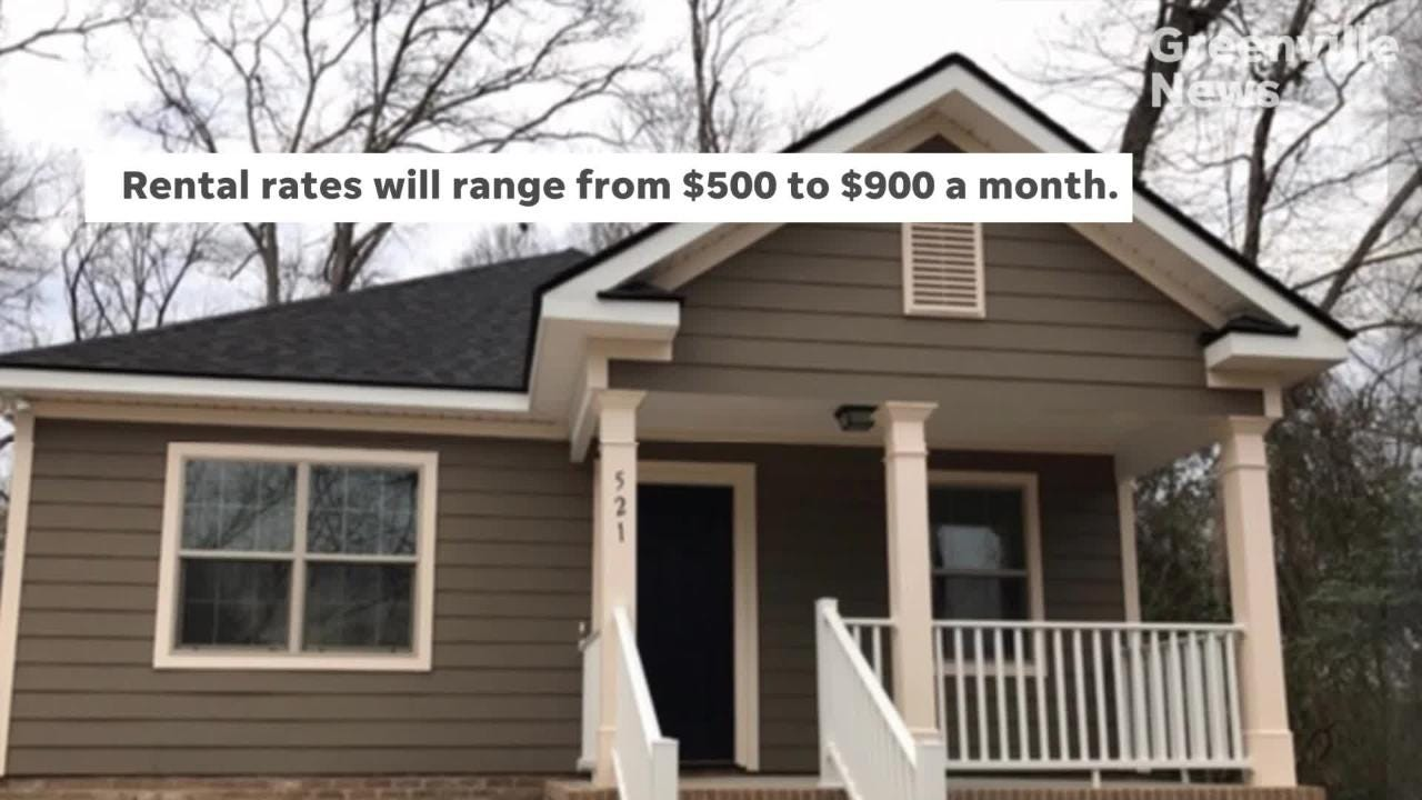 Gentrifying areas of Greenville are getting some new rental units for low-income residents. Here's what they may look like