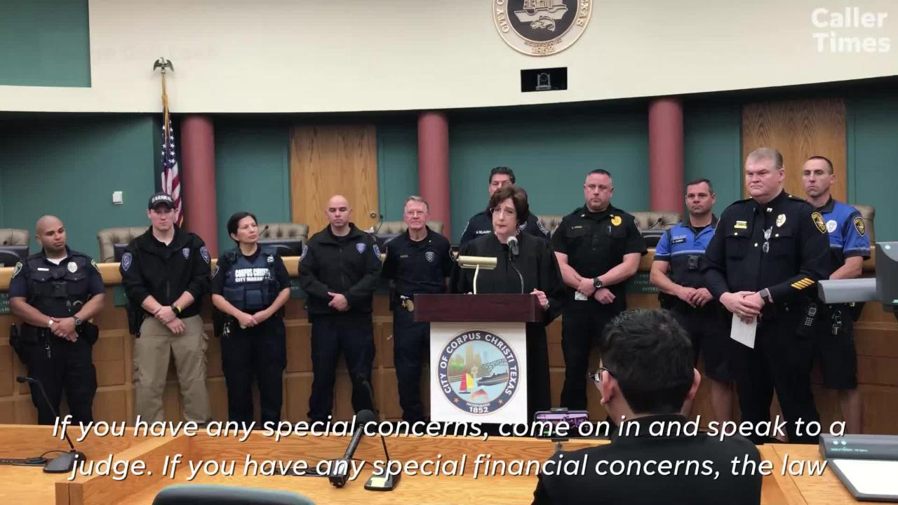 People with active warrants for unpaid citations in Corpus Christi have one week to pay for them. Here's what you can do.