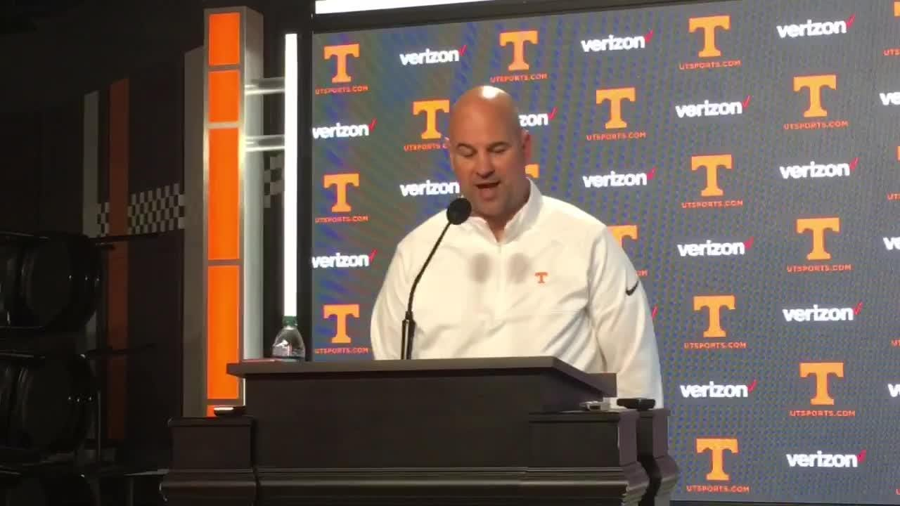 Tennessee Vols coach Jeremy Pruitt details his new coaching staff.